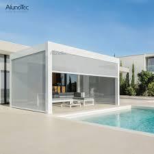 Roof Shade Design Modern Decorative Design Sun Shade Louvers Roof Waterproof