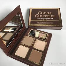 cocoa contour kit highlighters palette cosmetics face concealer makeup chocolate eyeshadow with contour buki brush highlighter sleek makeup from