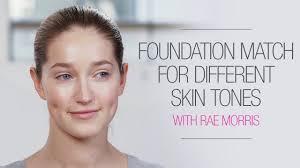 diffe skin tones