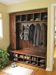 Coat And Boot Rack Amazing Mudroom Entryway Pinterest Coat Racks And Bench With Regard To Boot