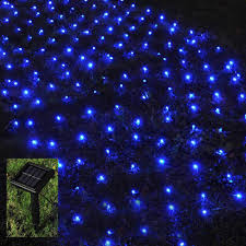 Net Lights For Bushes Solar Net Lights Outdoor Mesh Lights 4 9ft X 4 9ft 100 Leds Tree Wrap Christmas Lights Holiday Fairy String Lights For Garden Bushes Wedding Path