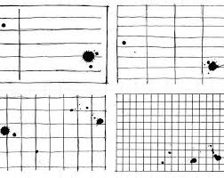 Note Paper Clear Rubber Stamp Set W Graph School Lined Ink