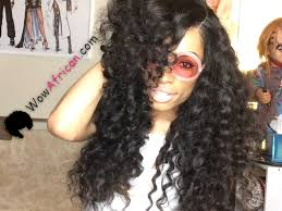 Peruvian Wavy Hairstyles Virgin Peruvian Hair Milan Curl With Silk Top Closure Review