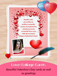 love greeting cards maker picture frames for valentine s day