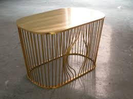Wire furniture Fairy Bye Bye Burd Coffee Table Homedosh Bye Bye Bird Classic Wire Furniture Inspired Coffee Table With