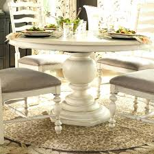 small round pedestal kitchen table stunning ideas white pedestal dining table cozy white washed kitchen table