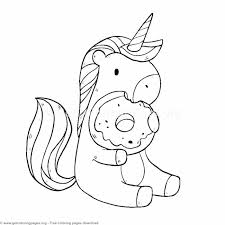Lovely Cute Unicorn Coloring Pages Simplesnackstop