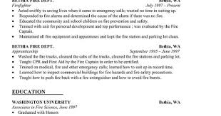 Firefighter Resume Templates Fascinating Gallery Of Resume For Firefighter Engineer Firefighter Resume