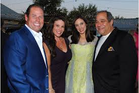 Banyan Bash - George and Shannon Argyros with Jennie and Mark Famiglio |  Your Observer