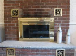 how to clean soot from fireplace brick