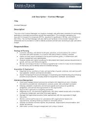 Best Photos Of Standard Job Description Template Sample Job