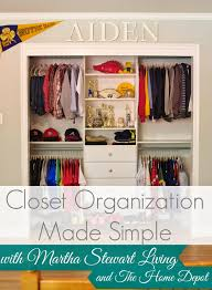 closet organization made simple by martha stewart living at the home depot closet system simply organized