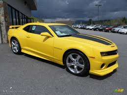 2012 Rally Yellow Chevrolet Camaro SS/RS Coupe #63450972 ...