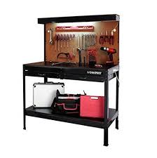metal workbench with drawers. workpro garage metal workbench with drawers