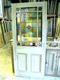 stained glass insert french door inserts custom designs stain interior doors replaceme