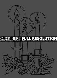 Small Picture Coloring Pages Free Coloring Pages For Christmas Candle Christmas