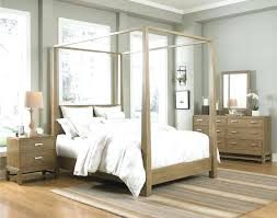 Wood Canopy Bed Image Of King Size Canopy Bed Wood Canopy Bed Full ...