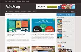 responsive blogger templates minimag responsive blogger template blogger themes