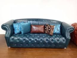 top leather furniture manufacturers. Top Grain Leather Sofa Diamond Tufted Stainless Steel Legs Chesterfield Leisure Living Room Furniture Made In Manufacturers E