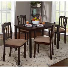 small dining tables sets: table and chairs brown modern kitchen  piece dining set espresso piece dining set espresso small kitchen