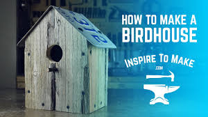 how to make a bird house simple woodworking project pallet wood you