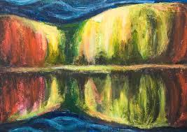 autumn night new abstract landscape abstract night dark night scene