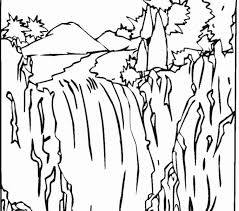The Best Free Waterfall Coloring Page Images Download From 150 Free