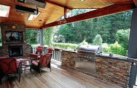 patio ideas medium size outdoor kitchens fireplaces fire pits living area kitchen frames covered creative tampa
