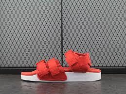 <b>2020 New Arrival</b> Adidas Adilette Sandal W Red/White S75380 ...