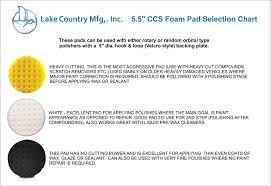 Yellow Cutting Ccs Smart Pads Da 5 5 Inch Foam Pad Amazon