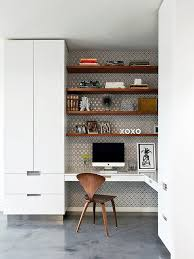 office room wallpaper. home office com parede estampada room wallpaper d