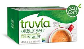Truvia To Stevia Conversion Chart Truvia Natural Stevia Sweetener Packets Net Wt 16 92 Oz 240 Count Pack Of 1