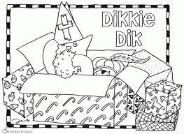 Voorkeur Dikkie Dik Kleurplaat At Lvp38 Agneswamu