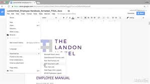 donwload microsoft word download as a pdf or microsoft word document