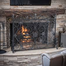 Christopher Knight Home Wilmington Fireplace Screen - Free Shipping Today -  Overstock.com - 16758440