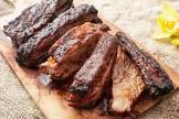 beef ribs   a beautiful barbecue