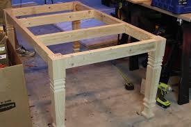 diy farmhouse dining table step 1