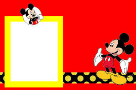Mickey Mouse Invitations Template Budget Template Free