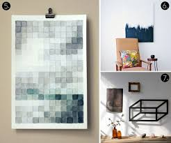 Roundup: 10 MORE Affordable DIY Modern Wall Art Projects!