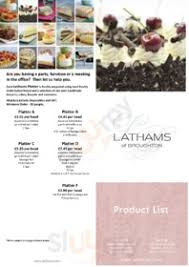 Photos, address, and phone number, opening hours, photos, and user reviews on yandex.maps. Lathams Of Broughton Preston Original Menus Reviews And Prices