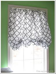 in an instant no sew window treatment my own style