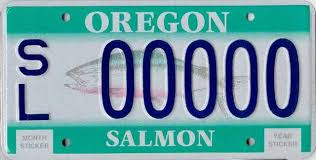 Oregon State Active Duty Pay Chart Oregon License Plates Something For Just About Everyone