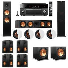 klipsch home theater system. image is loading dolby-atmos-7-2-4-klipsch-rp-280f- klipsch home theater system