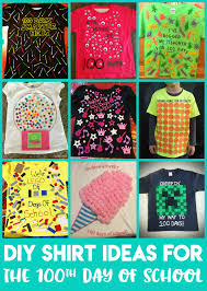Easy 100 Days Of School Shirt Ideas Happiness Is Homemade