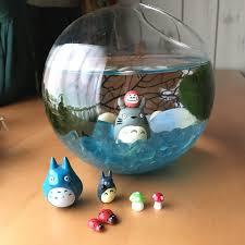 diy japanese marimo moss ball terrarium ghibli themed