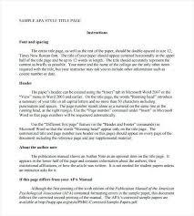 Apa Research Proposal Sample Sample Apa Research Proposal Beautiful Format For Essay Template