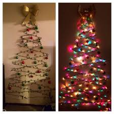 420 Best Alternative Christmas Trees Images On Pinterest Christmas Trees That Hang On The Wall