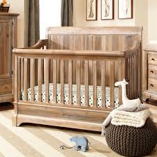 bertini pembrooke in convertible crib natural rustic  baby