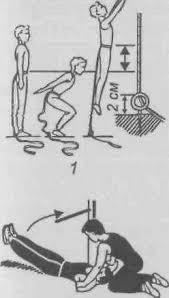 Контрольные упражнения тесты для определения уровня  Контрольные упражнения тесты для определения уровня развития силовых способностей