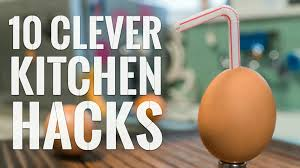 Clever Kitchen 10 Clever Kitchen Hacks To Try Right Now Youtube